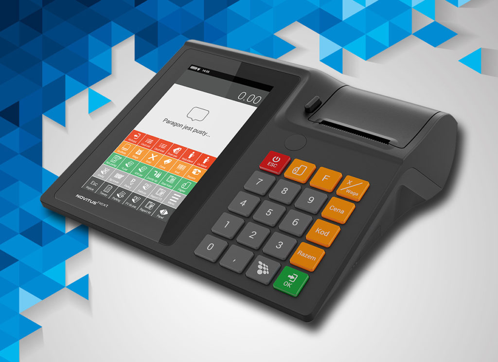 Novitus Next - kasa fiskalna zintegrowana z tabletem